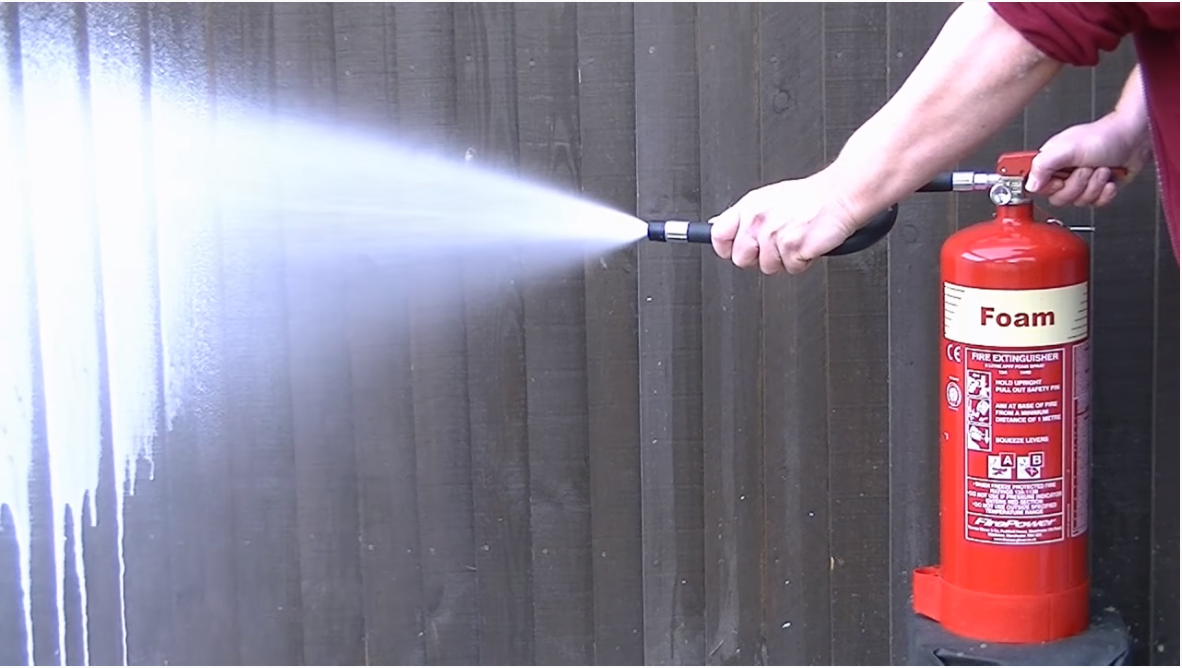 types of fire extinguishers and their uses Foam Extinguishers