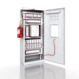 Electrical panel fire protection