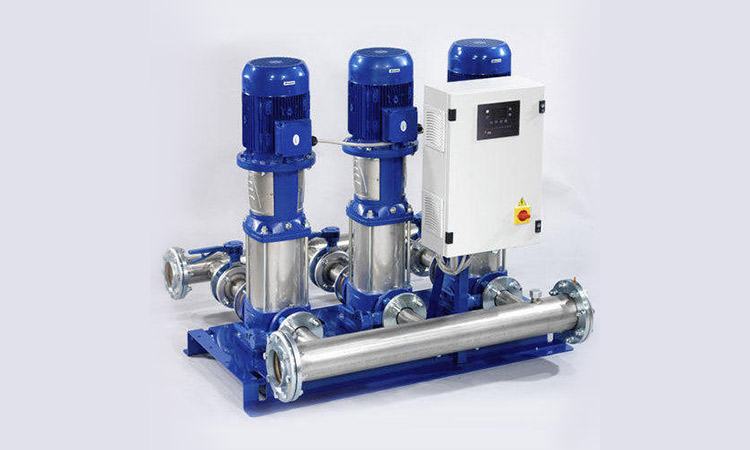 Water supply booster pump: