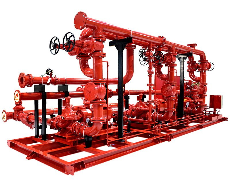 Fire Fighting Pumps System