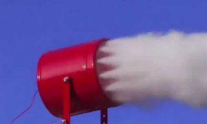 Aerosol fire fighting system