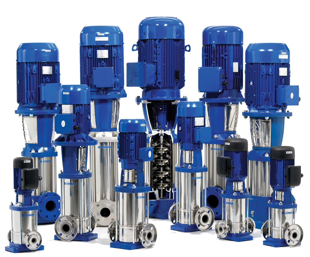 water supply booster pump