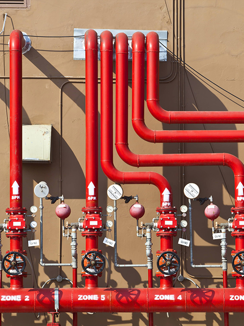 fire and safety services - Fire fighting system design service