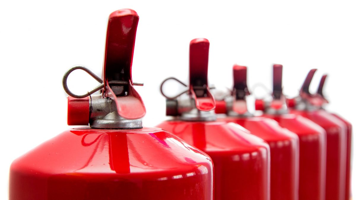 types of fire extinguishers and their uses