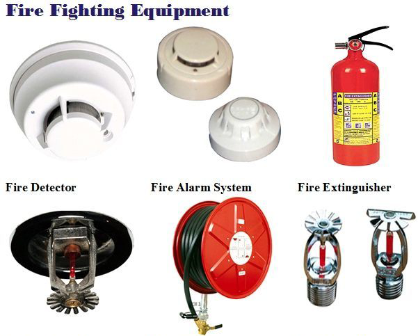 here is a List of fire fighting equipment  if you need to build a full fire fighting protection system with different types of fire Alarm Systems